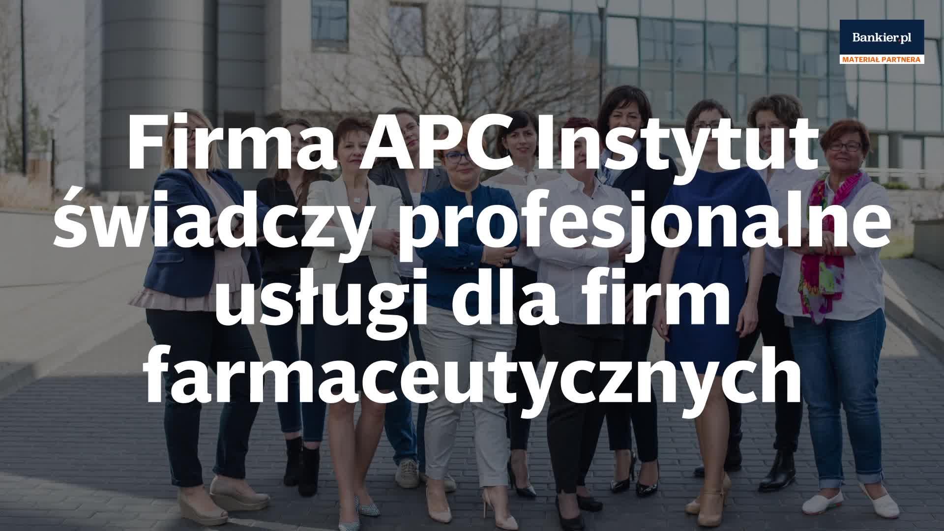 APC Instytut - profesjonalne wsparcie dla firm farmaceutycznych