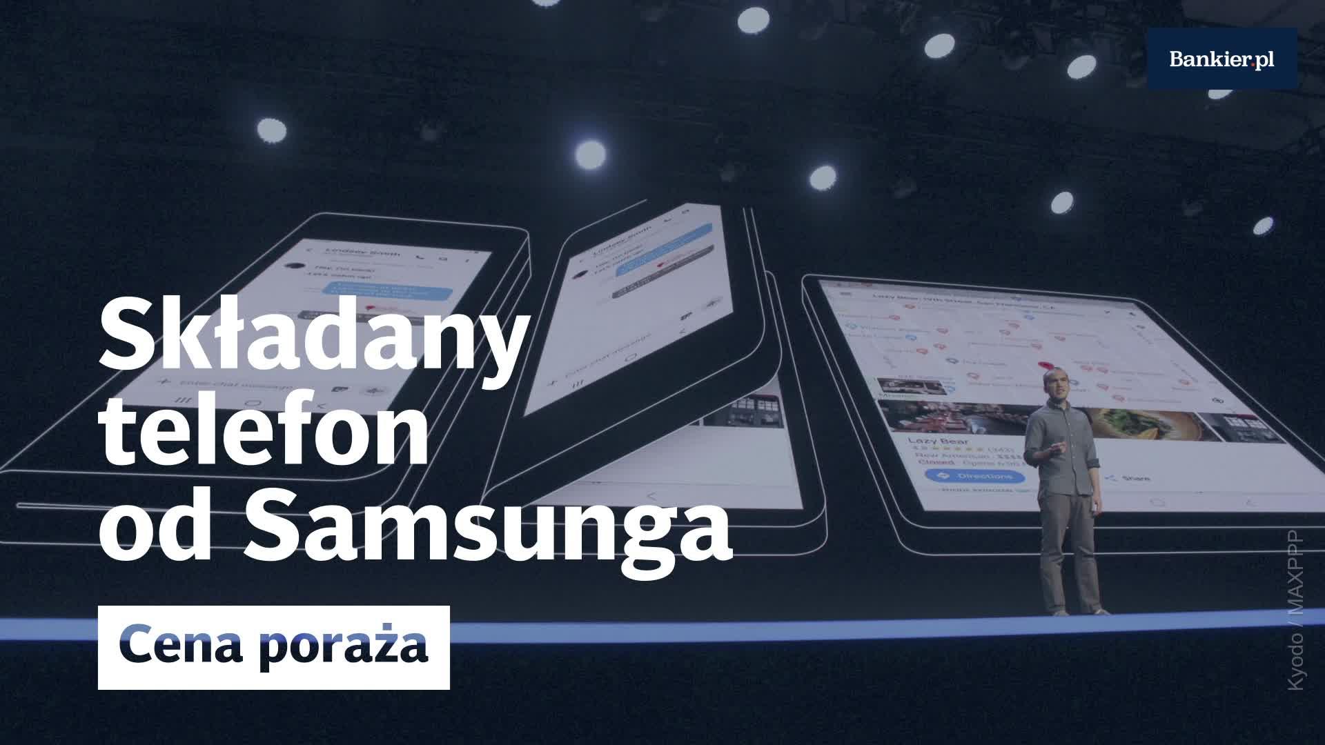 Składany smartfon od Samsunga