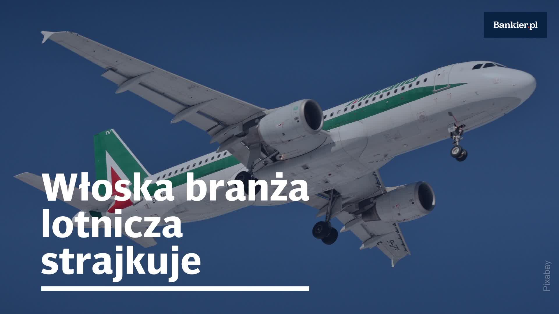 Włoska branża lotnicza strajkuje
