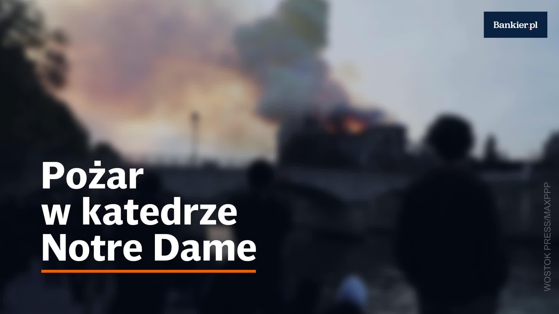 Odbudowa katedry Notre Dame pochłonie setki milionów euro