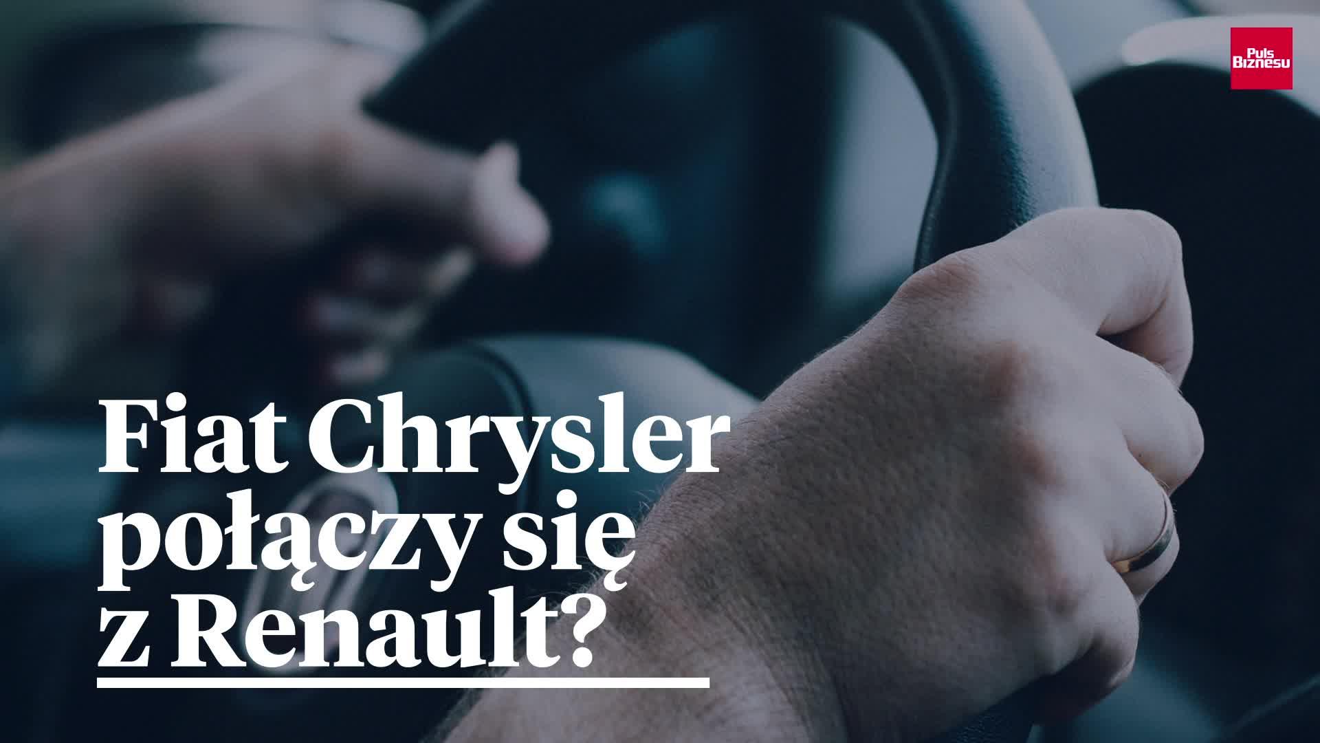 Fiat Chrysler oficjalnie proponuje fuzję Renault
