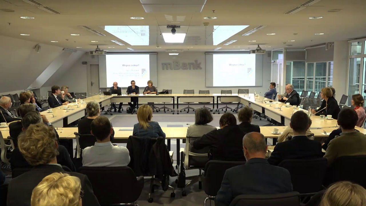 161. seminarium mBank-CASE: Czy odwrót od globalizacji?