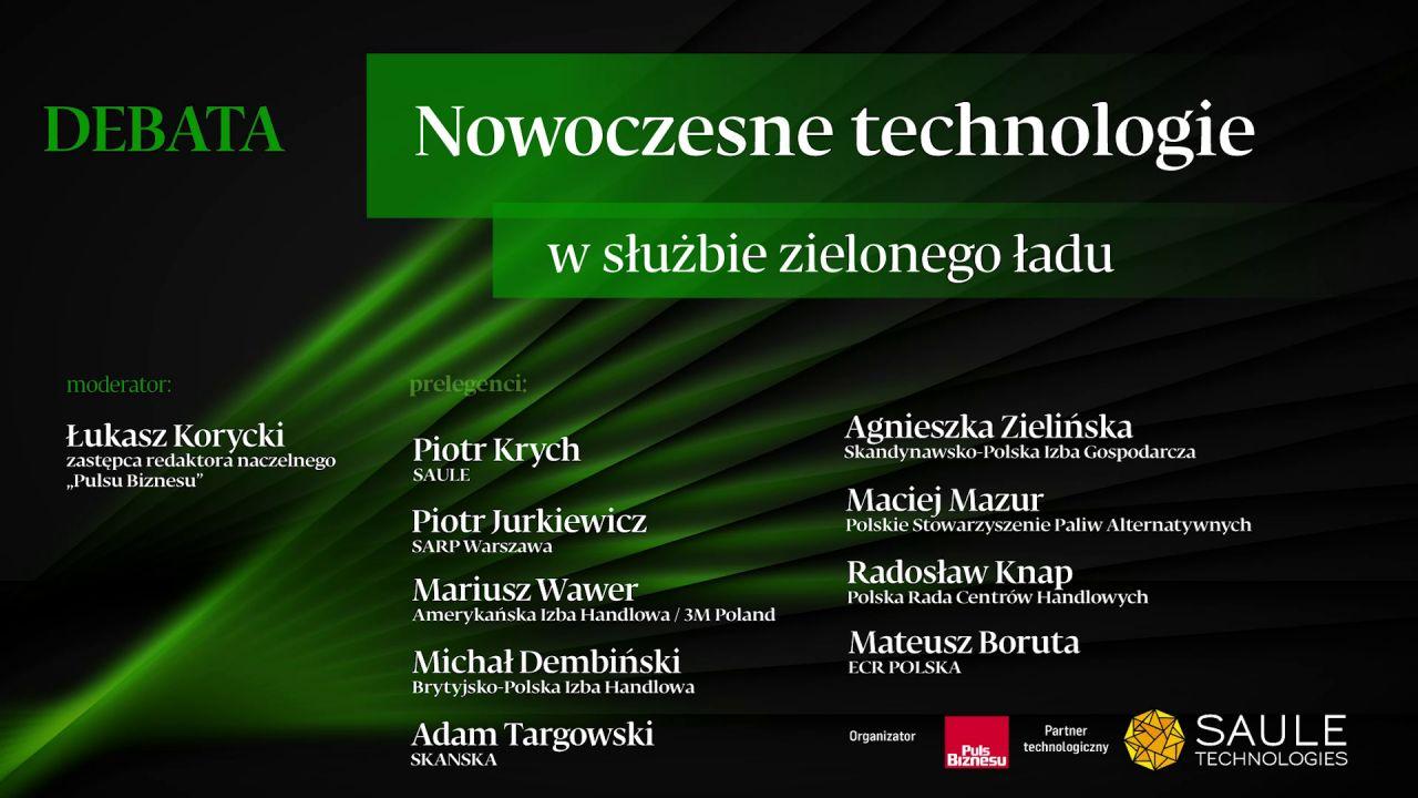 Debata PB: Nowoczesne technologie w służbie zielonego ładu