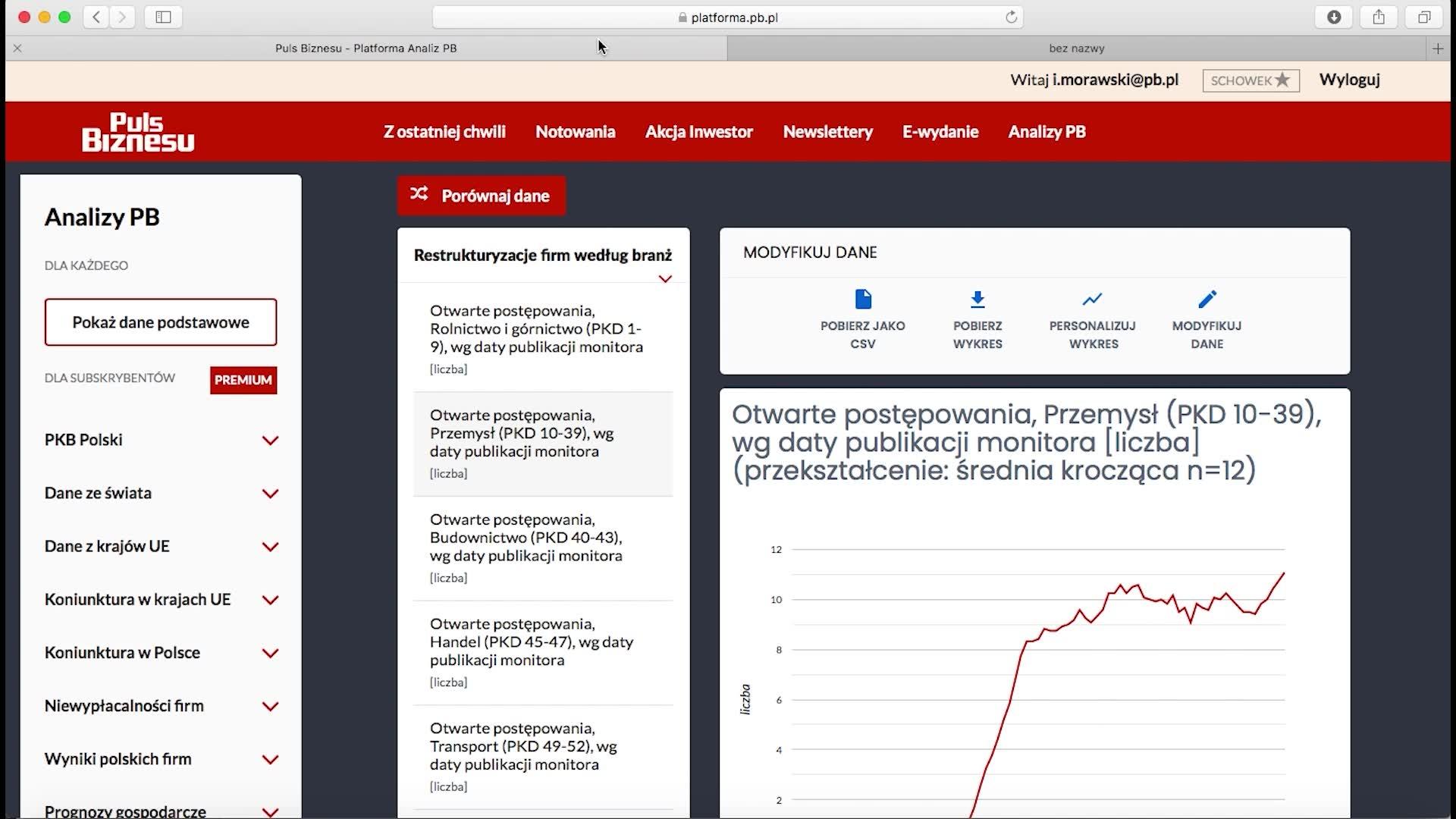 Jak korzystać z platformy Analizy PB?