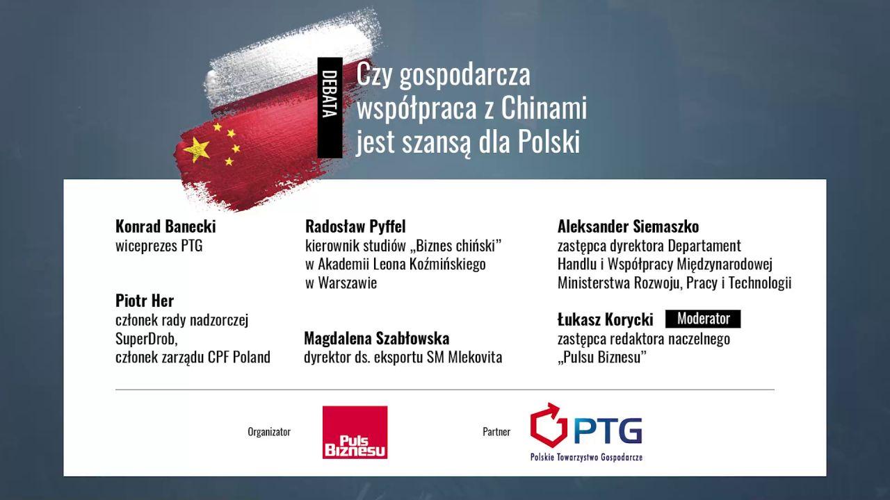 Debata: Czy gospodarcza współpraca z Chinami jest szansą dla Polski