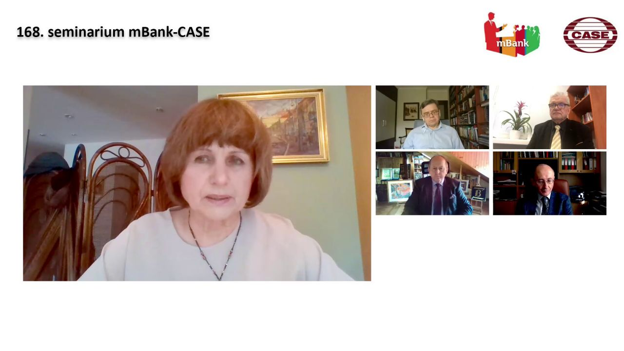 """168. seminarium mBank – CASE pt. """"Czy problemy sektora bankowego mogą zahamować proces konwergencji polskiej gospodarki?"""""""