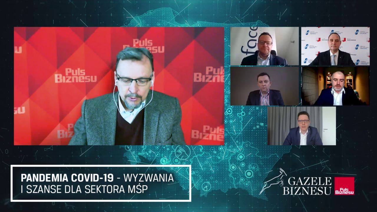 Debata: Pandemia COVID-19 - Wyzwania i szanse dla sektora MŚP