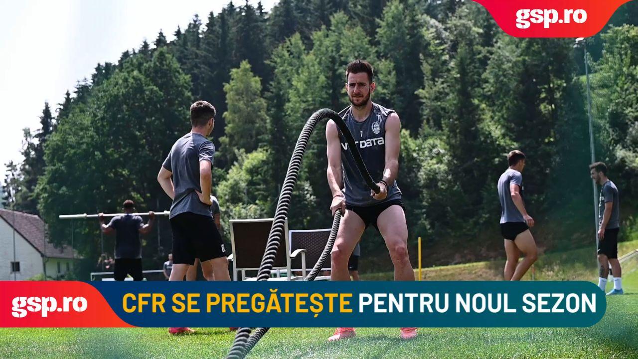 CFR CLUJ. Campioana României, antrenamente tari în cantonamentul din Austria
