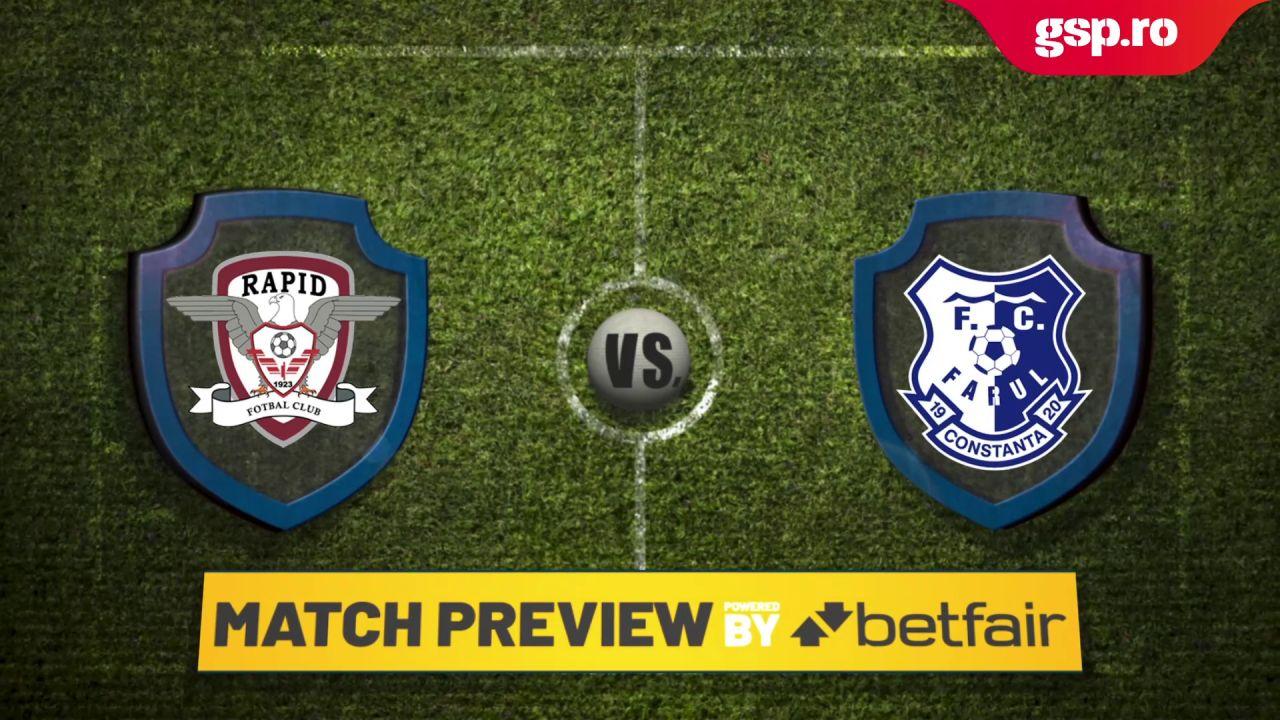 Etapa 3 // Match Preview Rapid - Farul