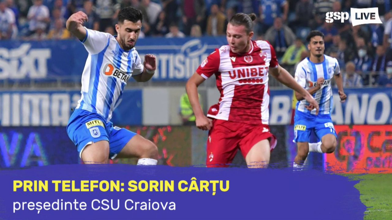 """CSU CRAIOVA. Sorin Cârțu, exuberant după triumful zdrobitor cu Dinamo: """"Se mai vorbește la 5-0?!"""""""