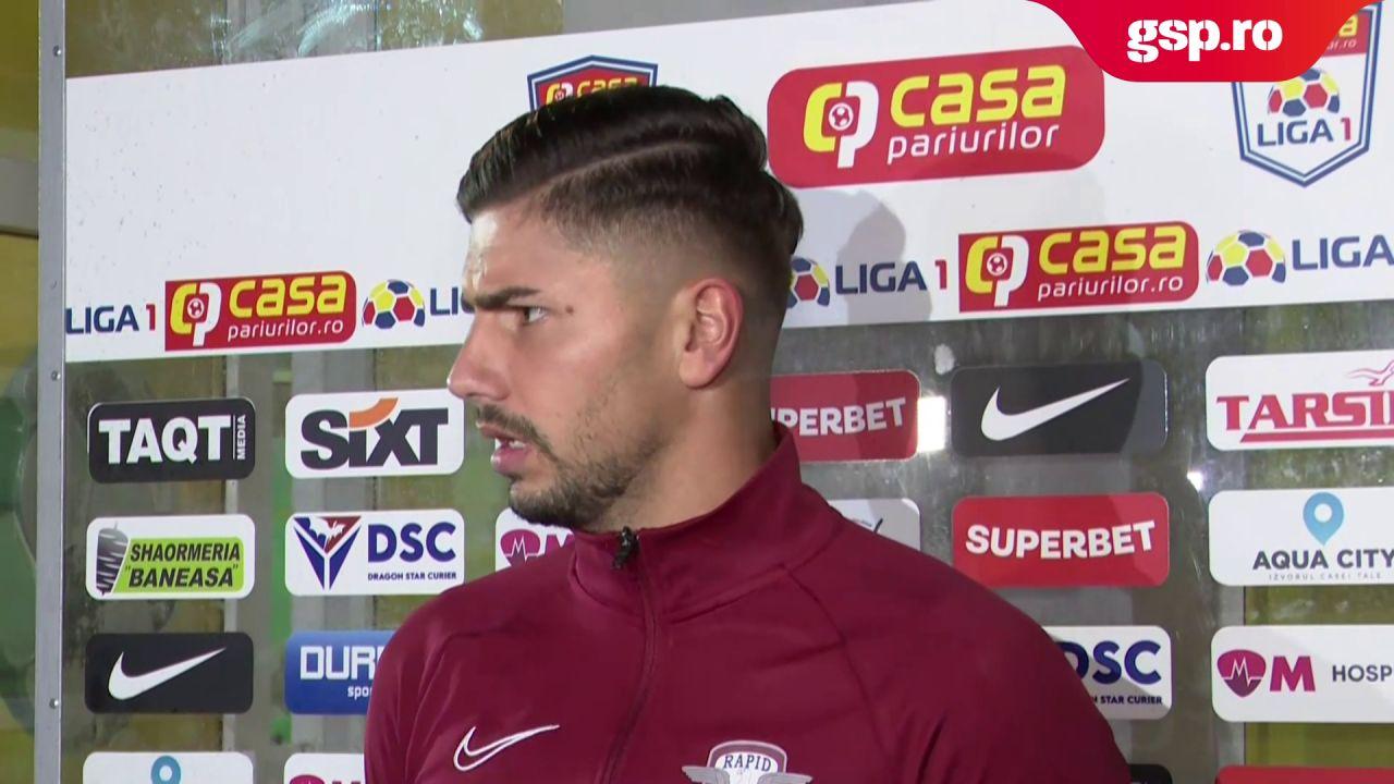 """Horațiu Moldovan, după Rapid - CFR Cluj 2-0: """"Avem o echipă foarte bună"""""""