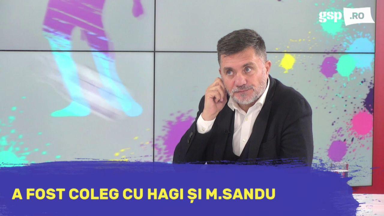 """Lucian Burchel: """"Gică Hagi a suferit pentru că nu a fost pe teren în finala de la Sevilla"""""""