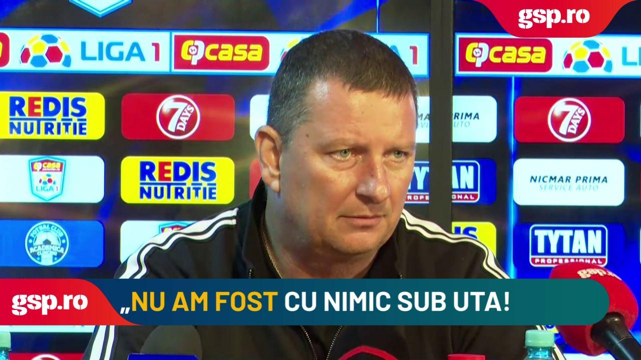 """Ionuț Chirilă, discurs furibund » A pus la zid un jucător de 20 de ani: """"E hilar ce a făcut, e momentul să ia o pauză"""""""