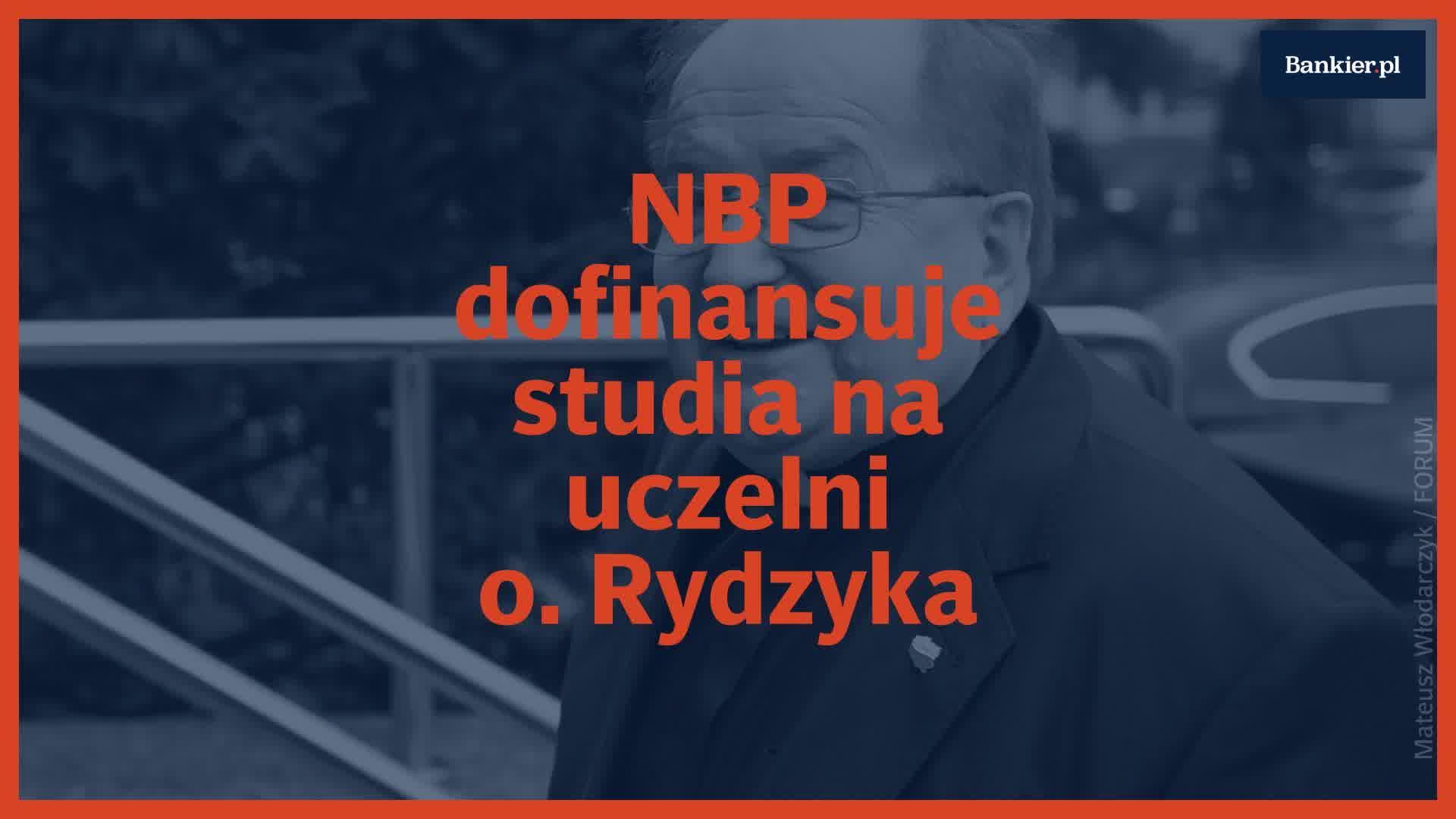 NBP dofinansuje kierunek na uczelni o. Rydzyka