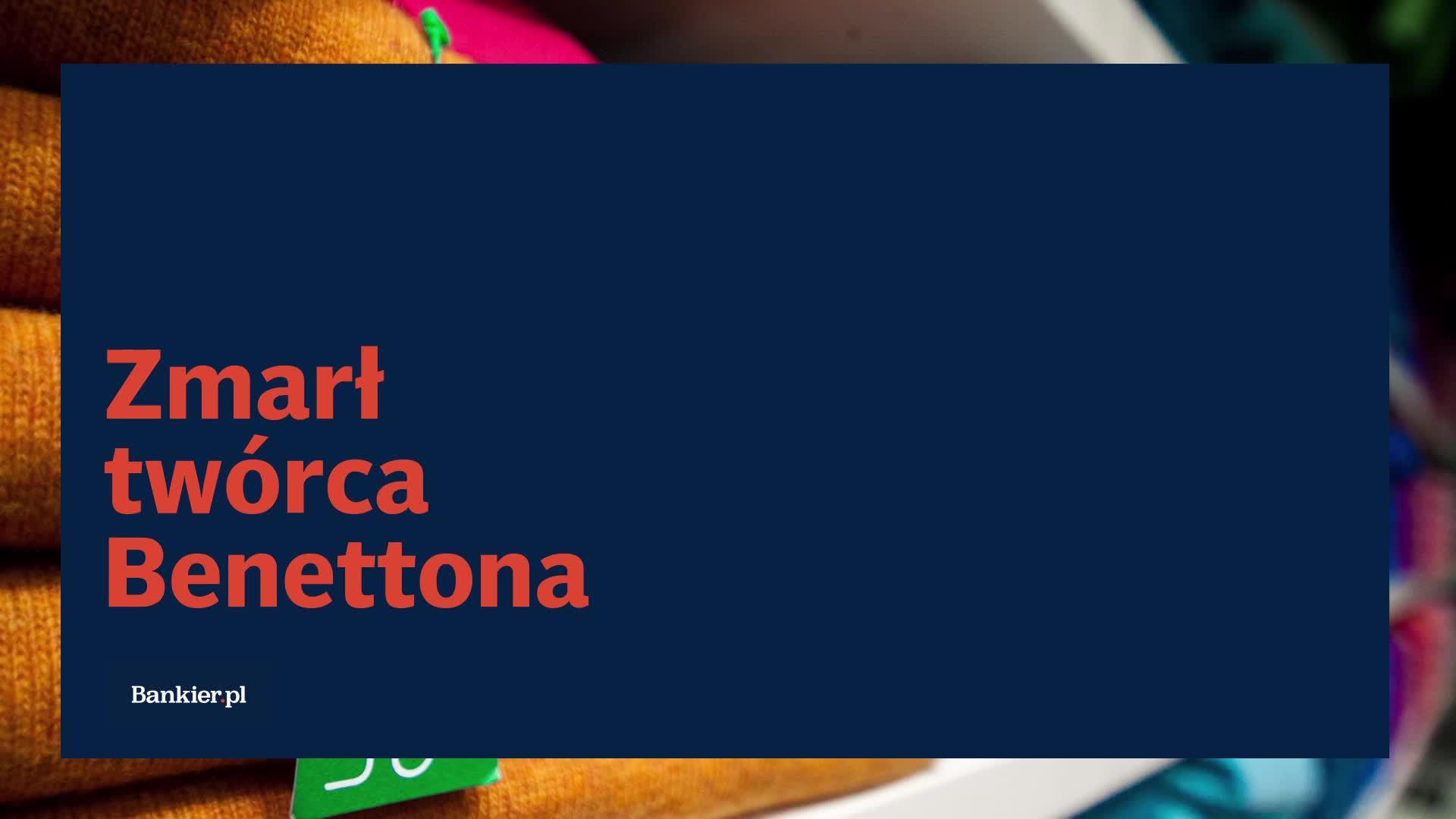 Zmarł twórca Benettona
