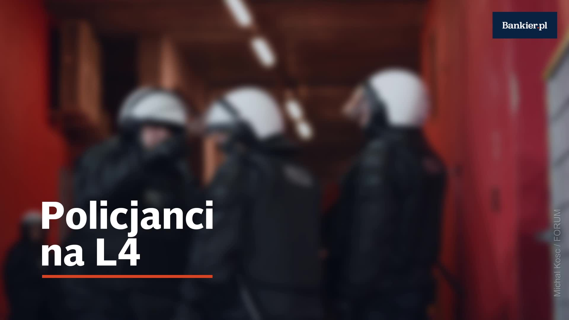 30 tys. policjantów na zwolnieniach
