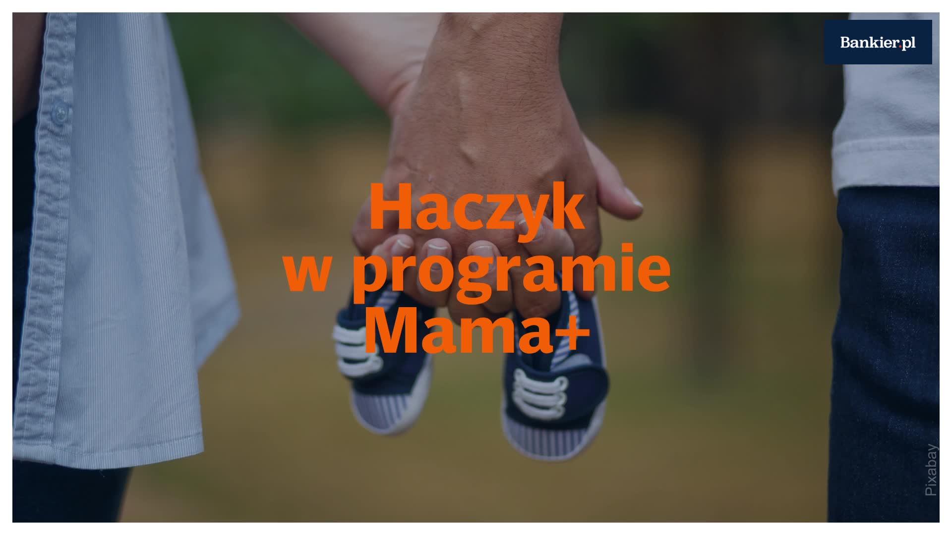 Haczyk w programie Mama+