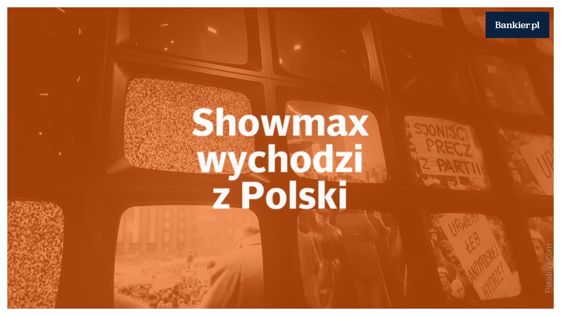 Showmax wychodzi z Polski