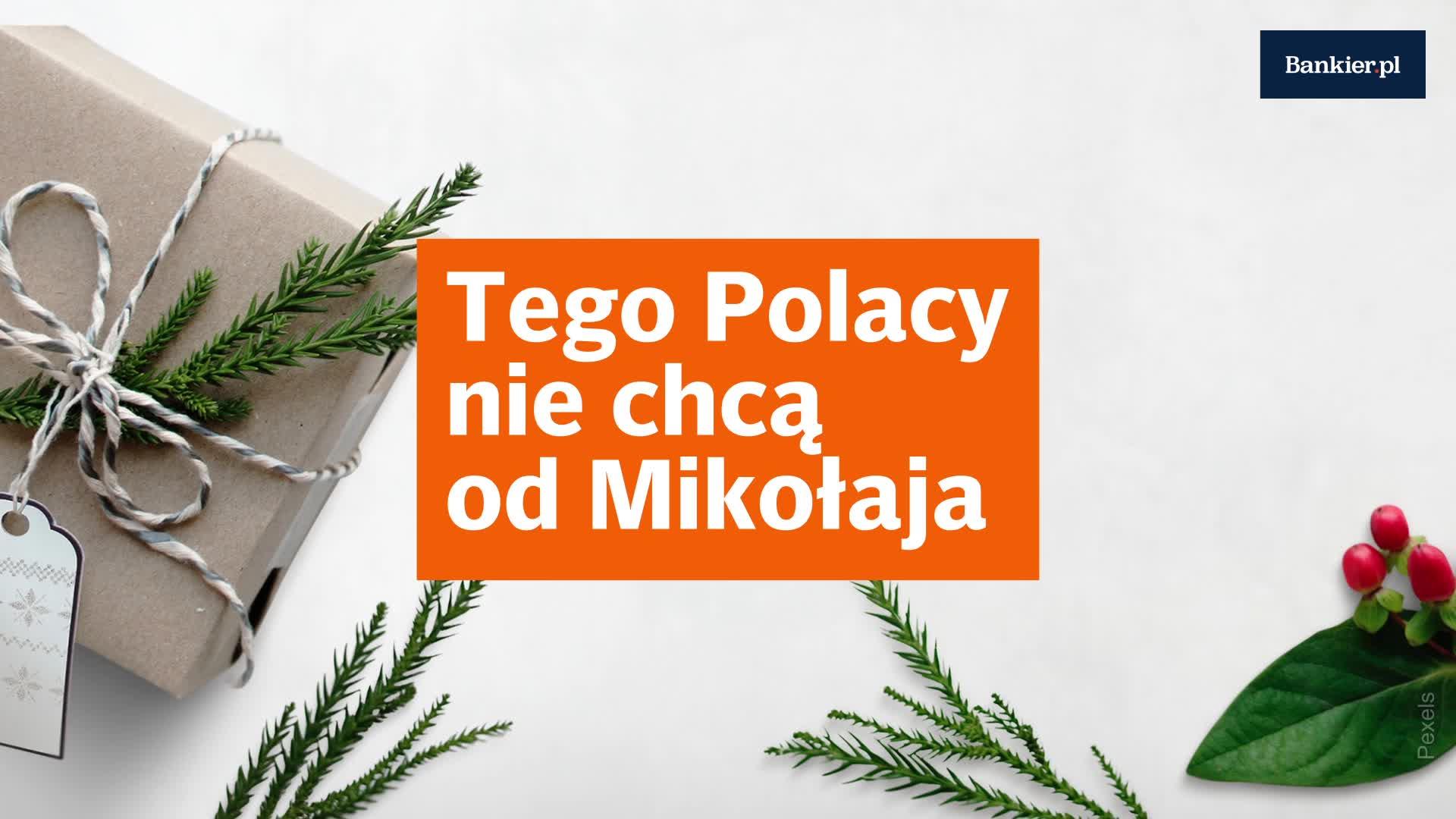 Tego Polacy nie chcą od Mikołaja