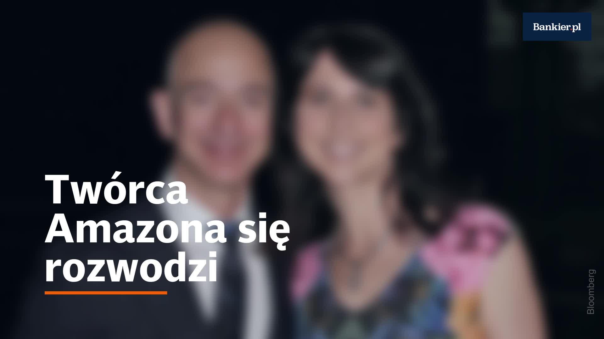 Jeff Bezos się rozwodzi