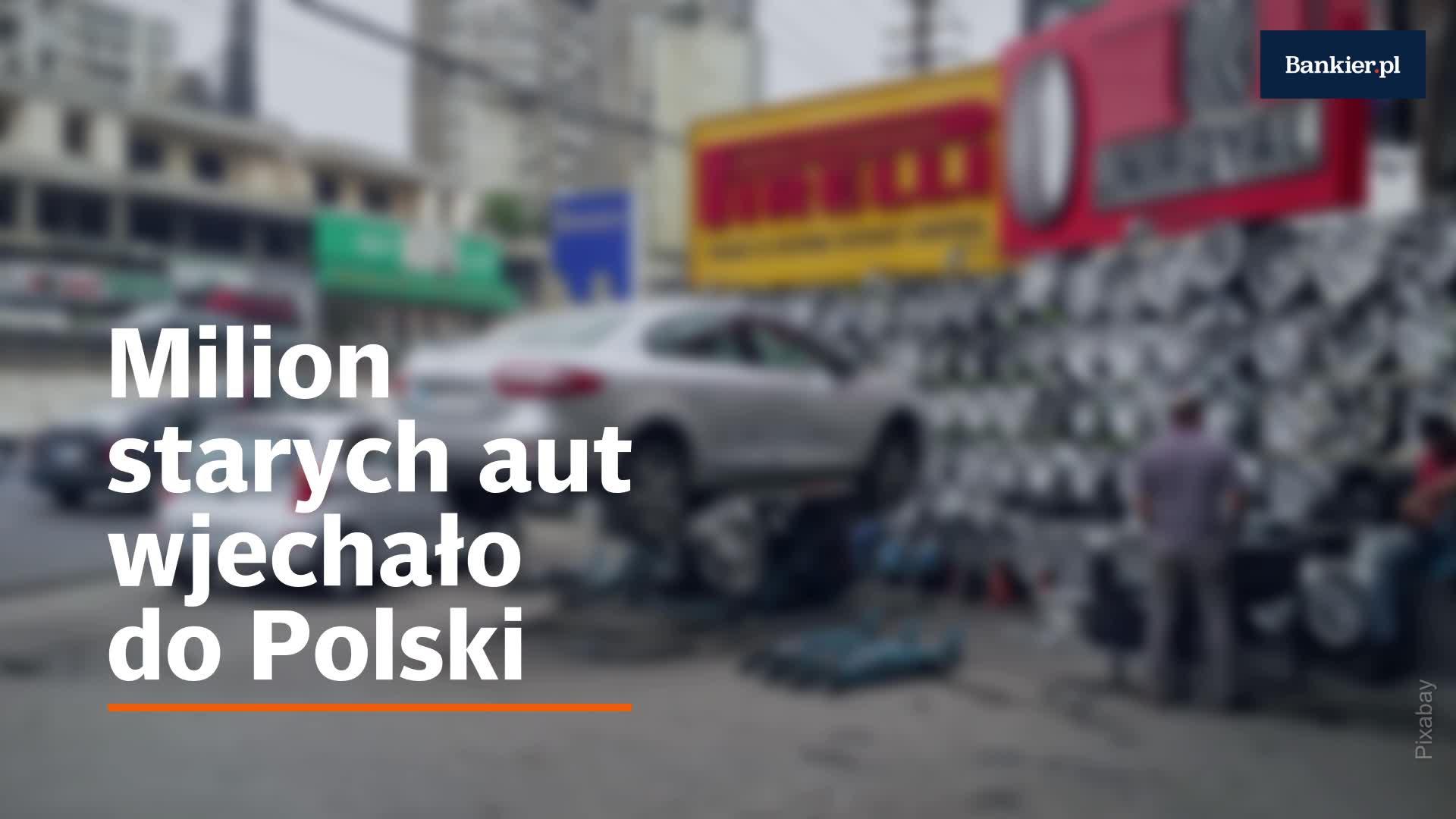Milion używanych aut w Polsce