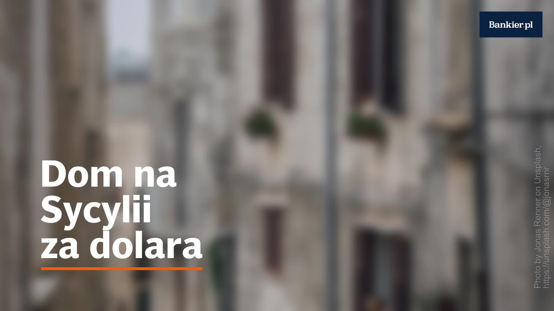 Dom za dolara do kupienia na Sycylii