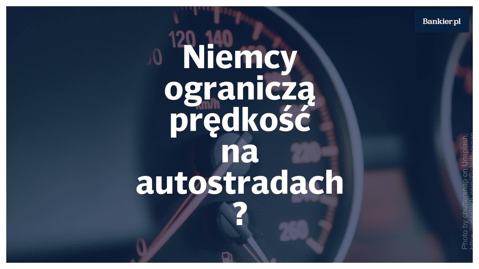 Niemcy rozważają ograniczenie prędkości na autostradach?