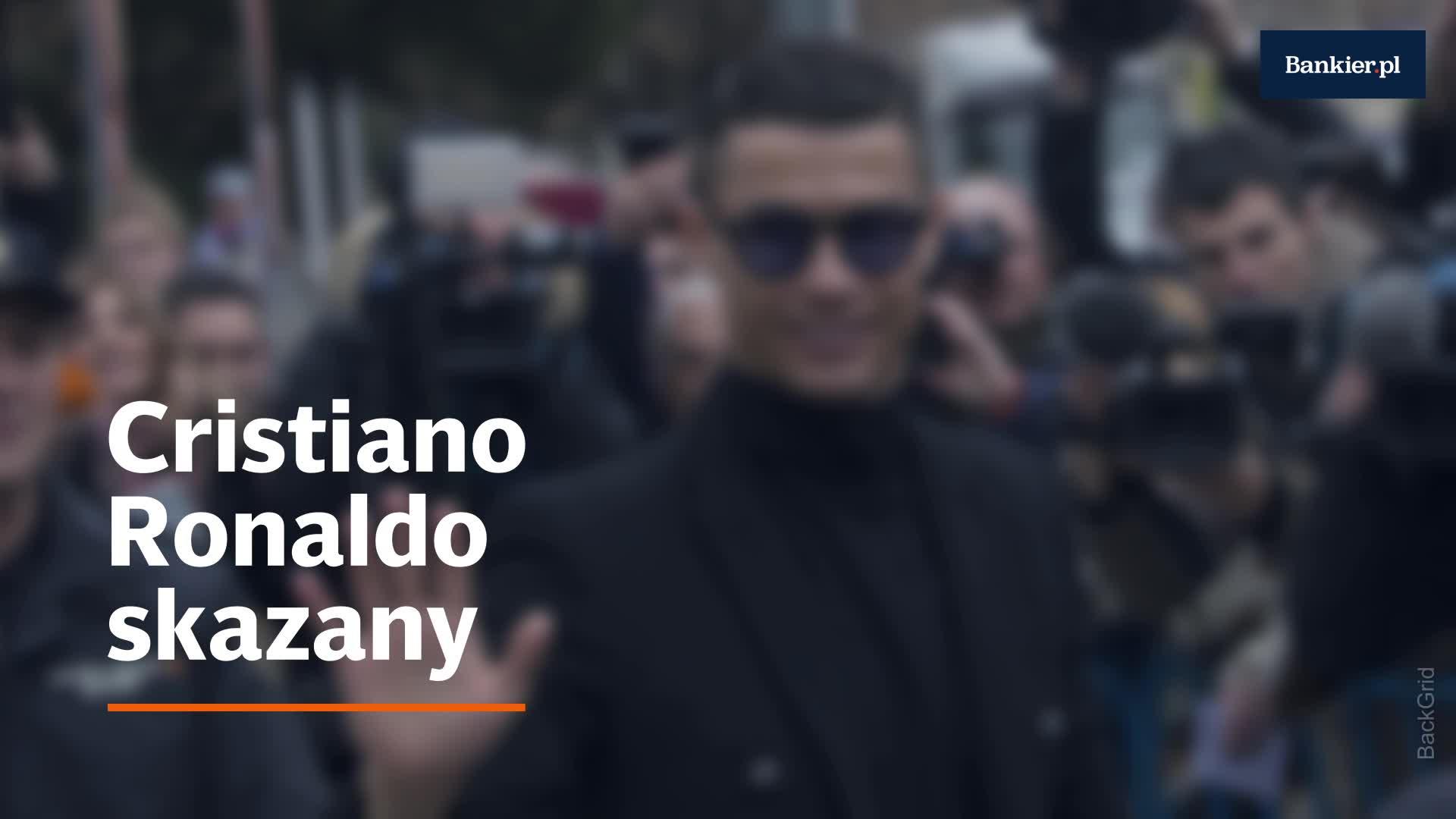 Cristiano Ronaldo skazany